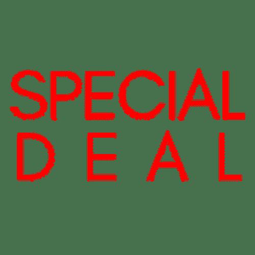 logo speacial deal for our website