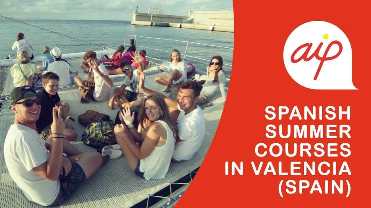 Our students having fun on a catamaran during the summer courses