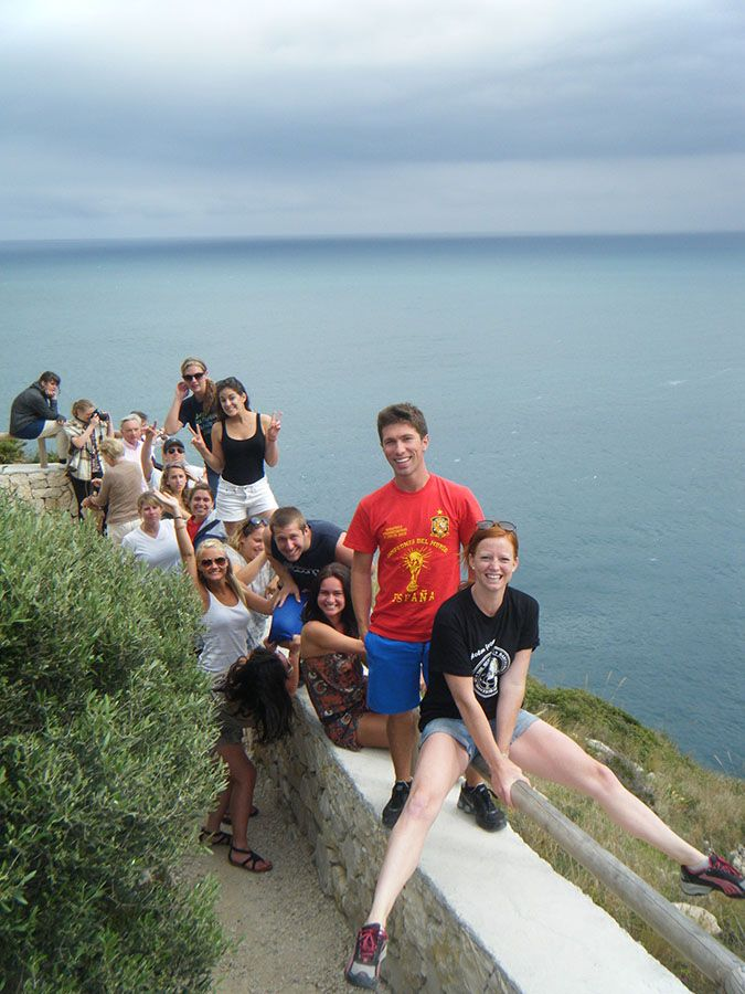 students during a trip with our school