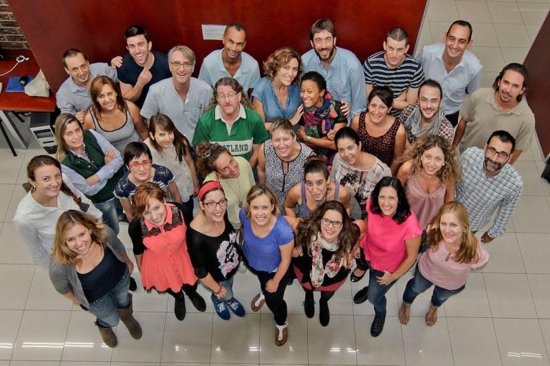 The team of our school AIP Language Institute