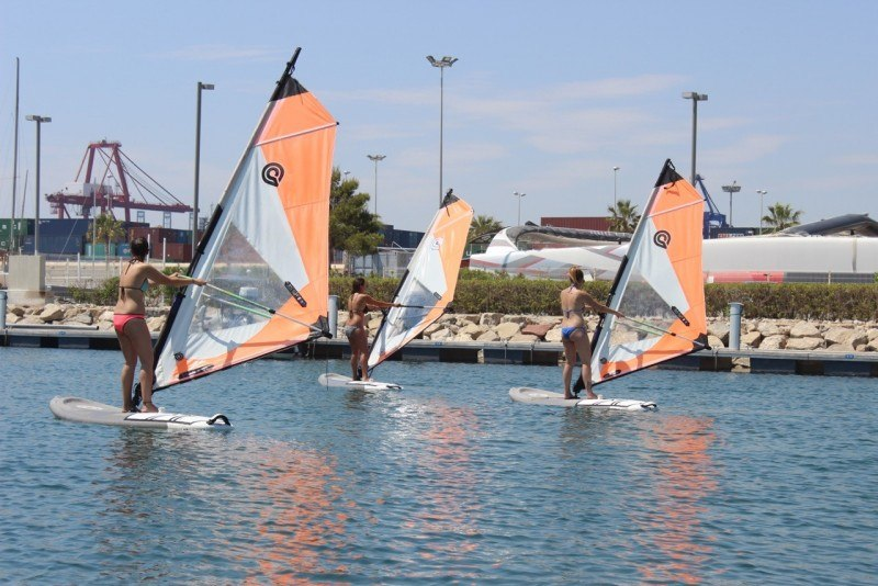 Spanska kurs + Segling eller Windsurf 0