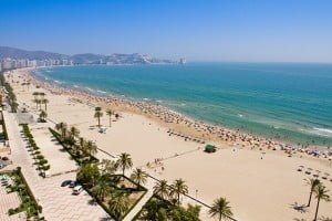 Playa de Valencia-ten-reasones-to-learn-spanish-in-valencia